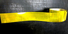 Self Adhesive reflective side yellow safety markings 55mm conspicuity tape