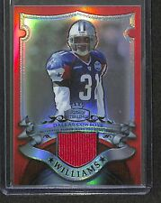 2007 Bowman Sterling Red Refractor Jersey #BSVR-RWL Roy Williams No 1 of 1