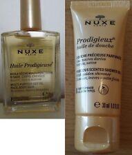Huile Prodigieuse & Douche Parfumée NUXE 60 ml de visage corps cheveux gel crème