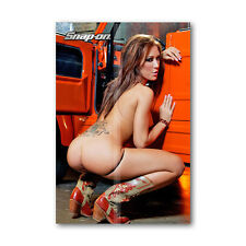 76 * Tool Box Fridge Magnet Hot Snap - On Girl Beautiful Woman Mini Bikini