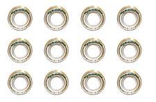 Qty (12) 6205zz Ball Bearing 52 x 25 x 15 6205ZZ , 6205 2Z Dual Metal Shields