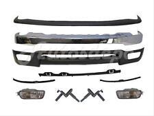 For 01-04 TACOMA 4WD FRONT BUMPER UP FILLER VALANCE BRACKETS SIGNAL LIGHT 10 PCS