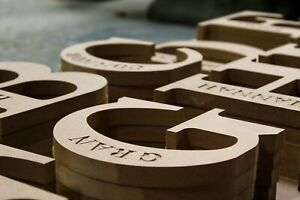 Engraved Name Letters Freestanding Premium Quality Ex Large 200mm High