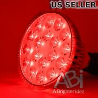 ABI True 26W 660nm Deep Red LED Grow Light Bulb for Flowering and Therapy