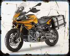 Aprilia Caponord Rally 1200 15 1 A4 Metal Sign Motorbike Vintage Aged