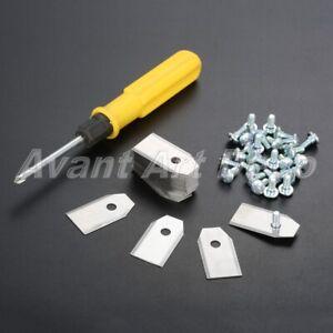 0.6MM Blade Parts Screwdriver with For Mower Robot Husqvarna Gardena R40Li 30Pcs