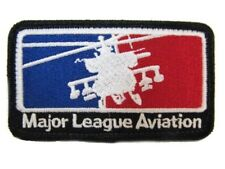 Major League Army Aviation AH-64 Apache Helicopter Gunship Pilot Military Patch