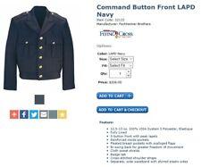 Flying Cross Men's Command Button Front Police/Fire Dept Dress Coat_LAPD Navy_44