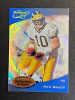 2000 Donruss Quantum #343 TOM BRADY Rookie RC Patriot Bucs Football Card