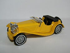 MATCHBOX MODELS OF YESTERYEAR 1936 JAGUAR SS-100 YELLOW MADE IN ENGLAND Y-1