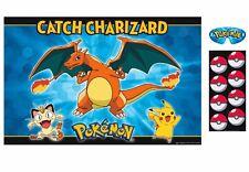 Pokemon Pikachu & Friends Birthday Party Game Poster Decorations Activity KION