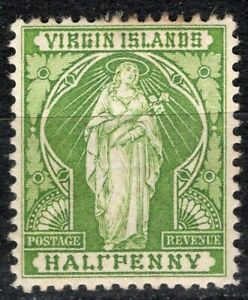 VIRGIN ISLANDS 1899 STAMP # Sc. # 21b MH