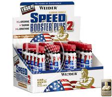 Weider Speed Booster Plus 2 (47,98€/L) 20x 25ml LEMON-COLA !Guarana Ornithin