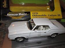 1970 Oldsmobile CUTLASS SX WHITE AMERICAN MUSCLE ELITE 1/18 ltd edition ERTL