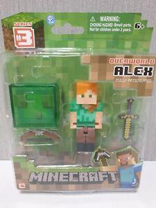 Minecraft Series 3 Alex (Slime Box Accessory) Action Figure Overworld  NEW
