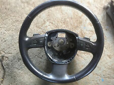 Audi A8 D3 A6 Multi function three 3 spoke steering wheel with paddle shift oem+