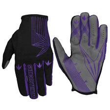 Bunker Kings Fly Paintball Gloves - Purple - S/M
