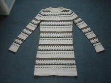 Acrylic Blend Long Sleeve Casual Jumper Dresses for Women