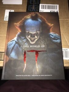 The World Of IT Book By Alyse Wax Pennywise Stephen King Hardback