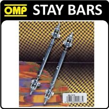 EB/570 OMP RALLY STAY BARS ADJUSTABLE ZINC PLATED STEEL TO SECURE SPOTLIGHTS