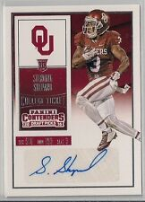 2016 Sterling Shepard Panini Contenders Rookie Ticket Auto New York Giants RC