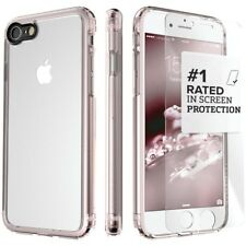 SaharaCase 360 Clear Back Hard Kit Phone Case Cover For iPhone 7 Plus