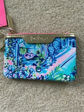 Lilly Pulitzer Key ID Card Case Wallet - Multi Print Fabric - NWT