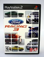 FORD RACING 3 PlayStation 2 PS2 Game COMPLETE w/MANUAL 2005