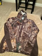 UNDER ARMOUR REAL TREE  XTRA CAMO Base Layer HOODIE MENS SZ L 1291649