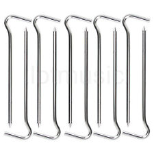 10 Pcs Aluminium Tent Hook Peg Camping Spike Stake Nail Hiking Survival Tool