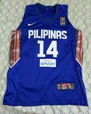 Rare Nike Philippines Gilas Pilipinas Basketball Jersey Fiba World Cup 21 Large