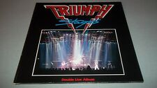 TRIUMPH - STAGES - 2 LP - MADE IN GERMANY