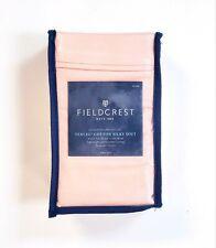 Fieldcrest Tencel Cotton Silky Soft Sateen King Pillowcase Set Heirloom Pink