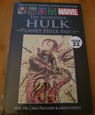 Ultimate Graphic Novels Collection Marvel The Incredible Hulk Planet Issue 23
