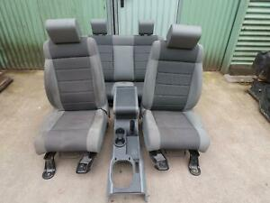 JEEP WRANGLER JK 2008 FRONT AND REAR SEATS IN GREY CLOTH 2007 - 2011