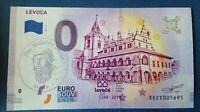 NEW 0 Euro Souvenir Banknote 2019-1 LEVOCA SLOVAKIA SLOWAKEI  EECC stamp M. Paul