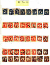 SWEDEN Suède SVERIGE 1910-1919  divers Lot S10