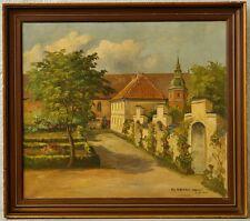 » Schlosspark - Kopenhagen « monogr. L.J. 1941