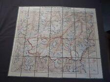 Landkarte, Die Gletscherwelt der Inner - Oetztaler Alpen, 1926, Sölden