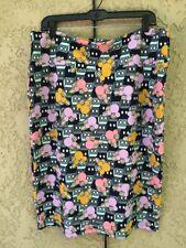 Lularoe Disney Cassie Pencil Skirt 3XL Multi-Color NWOT
