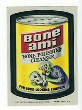 1974 Topps Wacky Packages 8th Series 8 BONE AMI CLEANSER nm-