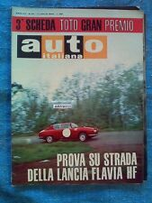 AUTO ITALIANA - luglio 1966 - LANCA FLAVIA HF