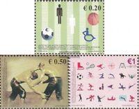 Kosovo (UN-verwaltung) 83-85 (kompl.Ausg.) postfrisch 2007 Sport