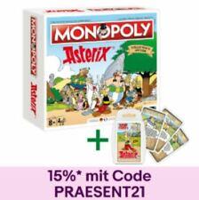 Monopoly Asterix und Obelix limitierte Collector's Edition + Top Trumps Quartett