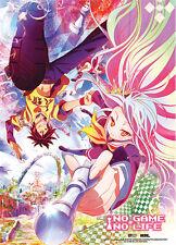 No Game No Life Shiro and Sora Wall Scroll Poster Anime Manga NEW
