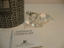 SWAROVSKI CRYSTAL WALRUS FIGURE #7620