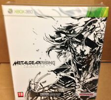 Metal Gear Solid Revengeance Limited Edition Xbox360 Play Arts Raiden Figure New