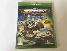 Micro Machines World Series Xbox One **BRAND NEW & SEALED!!**