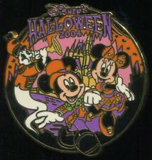 TDL Disney's Halloween 2004 Mickey Minnie and Ghost Disney Pin 33036