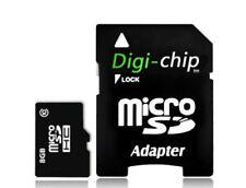 Tarjetas de memoria MicroSD clase 10 para teléfonos móviles y PDAs con 8 GB de la tarjeta